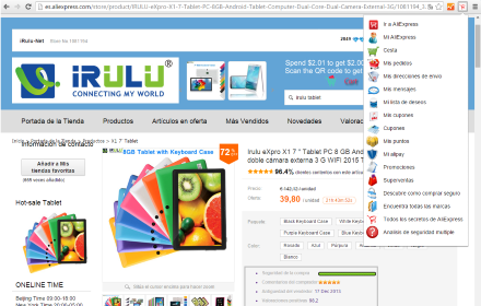extension aliexpress google chrome